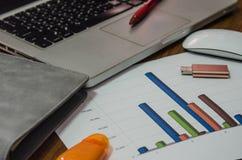 finanzas de la contabilidad empresarial fotografía de archivo