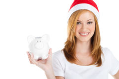 Finanzas de la Navidad Fotografía de archivo