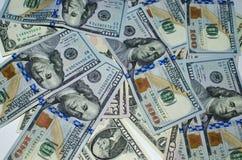 Finanzas de los dólares del dinero Foto de archivo libre de regalías