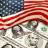Finanzas de los E.E.U.U. Foto de archivo libre de regalías
