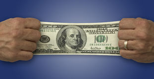Finanzas del dinero fotografía de archivo