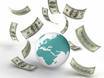 Finanzas del mundo ilustración del vector