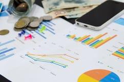 Finanzas del negocio imagen de archivo libre de regalías