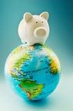 Finanzas globales Foto de archivo