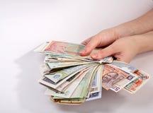 Finanzas internacionales imagen de archivo