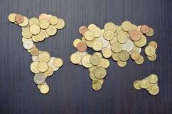 Finanzas internacionales Fotos de archivo