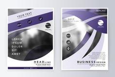 Finanzas listas del negocio del informe anual del diseño Fotos de archivo