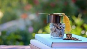 Finanzas para la beca y la educación inversión en concepto de la educación fotografía de archivo