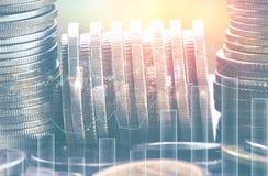 Finanzas y actividades bancarias imagen de archivo