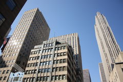 Finanzbezirk, Manhattan Stockbild