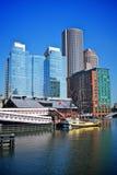 Finanzbezirk von Boston Stockbilder