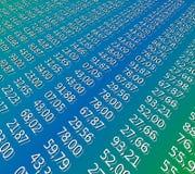 Finanzblatt Lizenzfreies Stockfoto