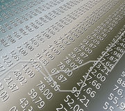 Finanzblatt Lizenzfreie Stockfotografie
