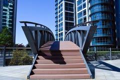 Finanzbrücke Stockfoto