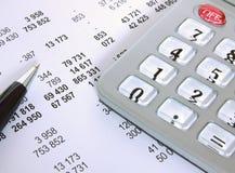 Finanzbuchhaltungskonto Lizenzfreies Stockfoto