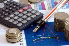 Finanzdaten Stockbilder