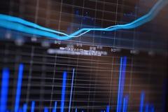 Finanzdiagramm Stock Abbildung