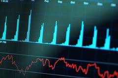 Finanzdiagramm Vektor Abbildung