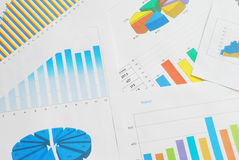 Finanzdokumente lizenzfreie stockfotos