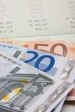 Finanze dei soldi immagine stock libera da diritti