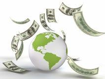Finanze del mondo Fotografie Stock Libere da Diritti