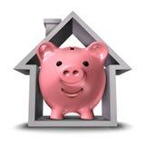 Finanze della casa Fotografie Stock Libere da Diritti