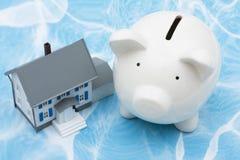 Finanze della casa Immagini Stock Libere da Diritti