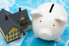 Finanze della casa Fotografia Stock