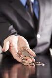 Finanze di affari Fotografia Stock Libera da Diritti
