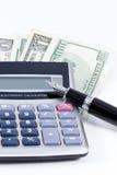 Finanze domestiche Fotografie Stock Libere da Diritti