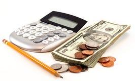 Finanze e contabilità personali fotografia stock