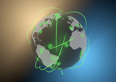 Finanze globali Immagine Stock