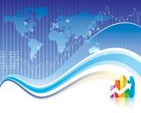 Finanze globali Fotografie Stock Libere da Diritti