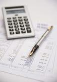 Finanzeinschätzung. Lizenzfreie Stockfotografie
