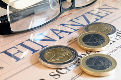 Finanzen Stockfoto