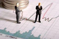 Finanzentscheidung Lizenzfreies Stockbild