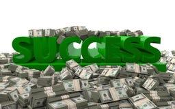 Finanzerfolg - Motivation Lizenzfreies Stockbild