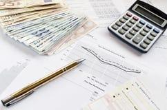 Finanzergebnisse Lizenzfreie Stockfotos