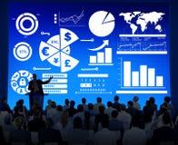 Finanzfinanzgeschäfts-Wirtschafts-Austausch-Bilanzauffassung lizenzfreies stockfoto