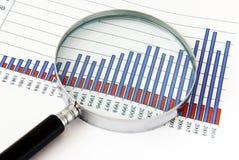 Finanzfokus Lizenzfreies Stockbild