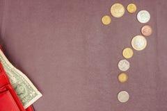 Finanzfrage Lizenzfreie Stockbilder