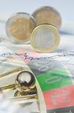 Finanzgefahr lizenzfreie stockbilder