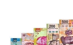 Finanzgeld-Diagramm Stockbild