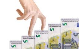 Finanzgeld-Diagramm Lizenzfreies Stockbild