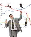 Finanzgeschäft lizenzfreie stockfotos