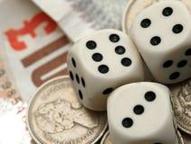 Finanzglücksspiel Lizenzfreie Stockbilder
