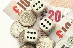Finanzglücksspiel Stockfotografie