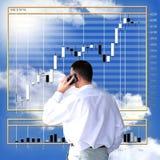 Finanzi il commercio Immagine Stock Libera da Diritti