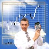 Finanzi il commercio Fotografia Stock