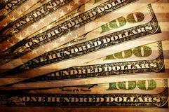 Dollaro americano dell'annata Fotografia Stock Libera da Diritti